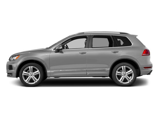 Cool Silver Metallic 2014 Volkswagen Touareg Pictures Touareg Util 4D TDI R-Line AWD V8 T-Diesel photos side view