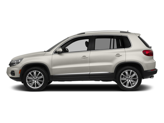 Pure White 2014 Volkswagen Tiguan Pictures Tiguan Utility 4D SEL 2WD I4 Turbo photos side view