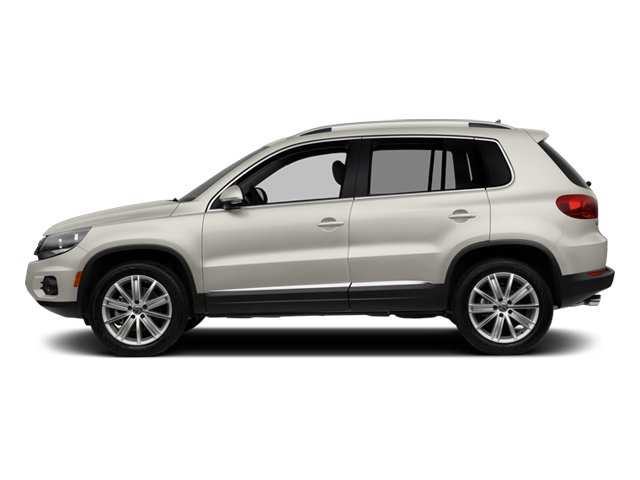 Candy White 2014 Volkswagen Tiguan Pictures Tiguan Utility 4D SEL AWD I4 Turbo photos side view