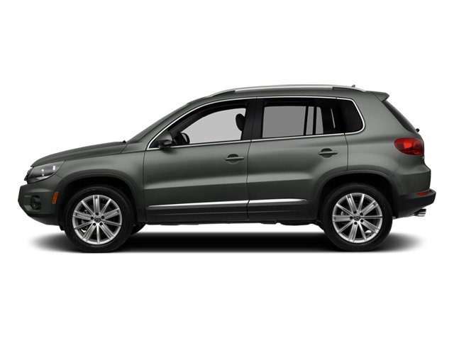 Pepper Gray Metallic 2014 Volkswagen Tiguan Pictures Tiguan Utility 4D SEL 2WD I4 Turbo photos side view