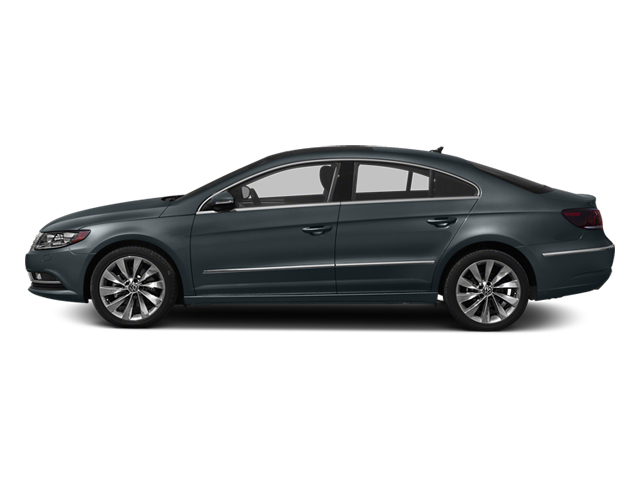 Island Gray Metallic 2014 Volkswagen CC Pictures CC Sedan 4D Sport I4 Turbo photos side view