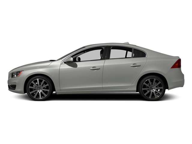 Bright Silver Metallic 2014 Volvo S60 Pictures S60 Sedan 4D T6 AWD I6 Turbo photos side view