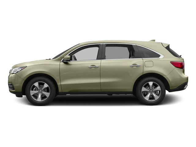 White Diamond Pearl 2015 Acura MDX Pictures MDX Utility 4D 2WD V6 photos side view