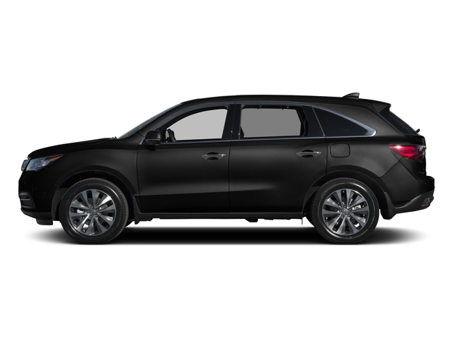 Crystal Black Pearl 2015 Acura MDX Pictures MDX Utility 4D Technology DVD 2WD V6 photos side view