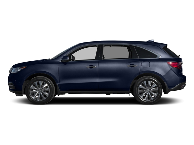 Fathom Blue Pearl 2015 Acura MDX Pictures MDX Utility 4D Technology DVD 2WD V6 photos side view