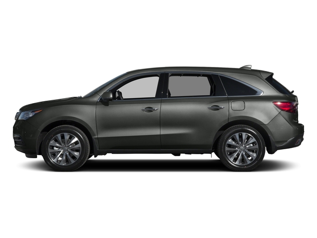 Forest Mist Metallic 2015 Acura MDX Pictures MDX Utility 4D Technology DVD 2WD V6 photos side view