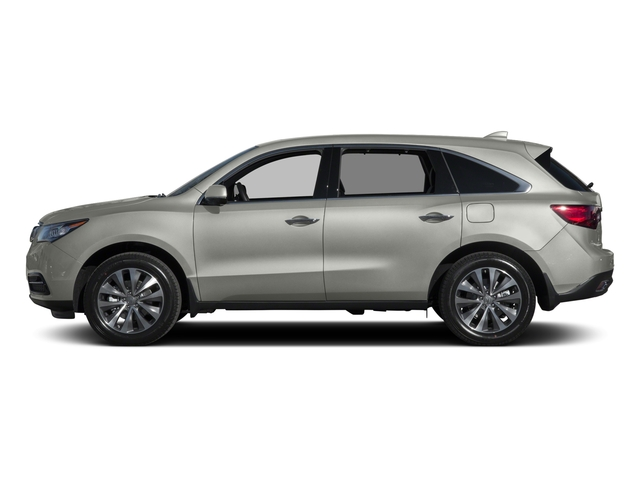 Silver Moon 2015 Acura MDX Pictures MDX Utility 4D Technology DVD 2WD V6 photos side view