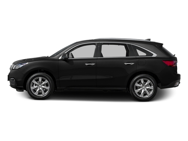 Crystal Black Pearl 2015 Acura MDX Pictures MDX Utility 4D Advance DVD 2WD V6 photos side view