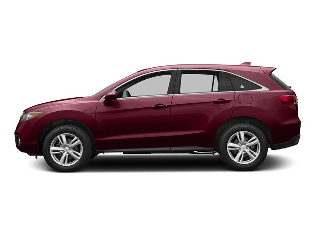 Basque Red Pearl II 2015 Acura RDX Pictures RDX Utility 4D Technology AWD V6 photos side view