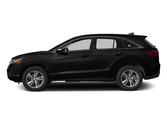 Crystal Black Pearl 2015 Acura RDX Pictures RDX Utility 4D 2WD V6 photos side view
