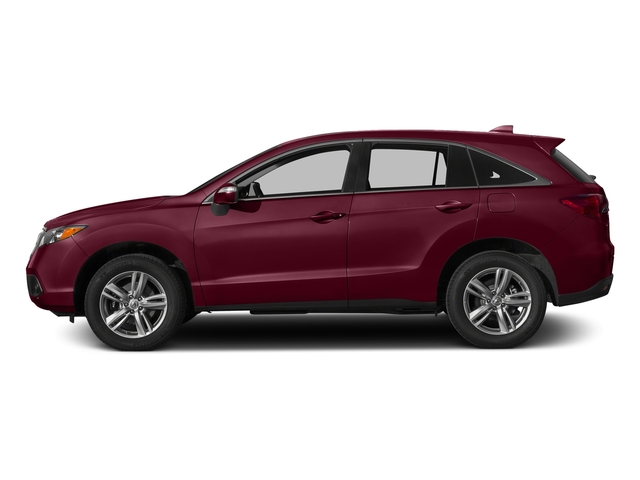 Basque Red Pearl II 2015 Acura RDX Pictures RDX Utility 4D 2WD V6 photos side view