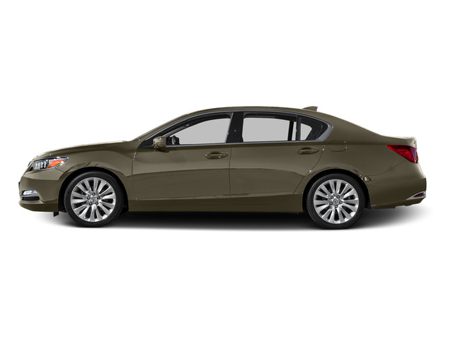 Gilded Pewter Metallic 2015 Acura RLX Pictures RLX Sedan 4D Advance V6 photos side view
