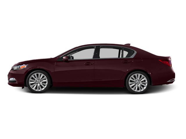 Pomegranate Pearl 2015 Acura RLX Pictures RLX Sedan 4D Advance V6 photos side view