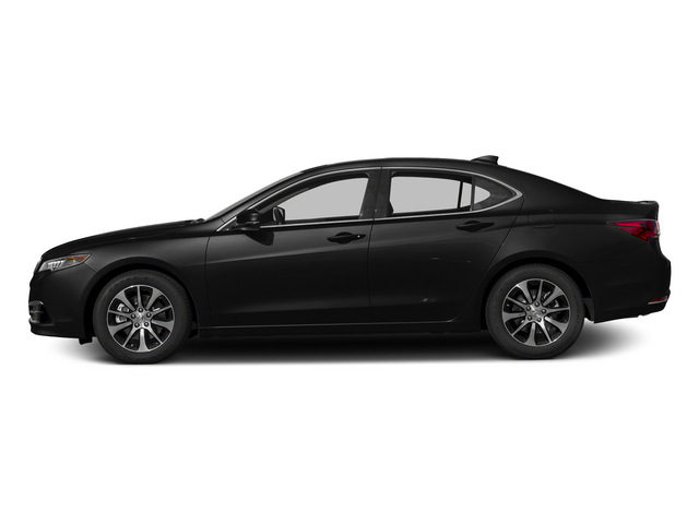 Crystal Black Pearl 2015 Acura TLX Pictures TLX Sedan 4D I4 photos side view