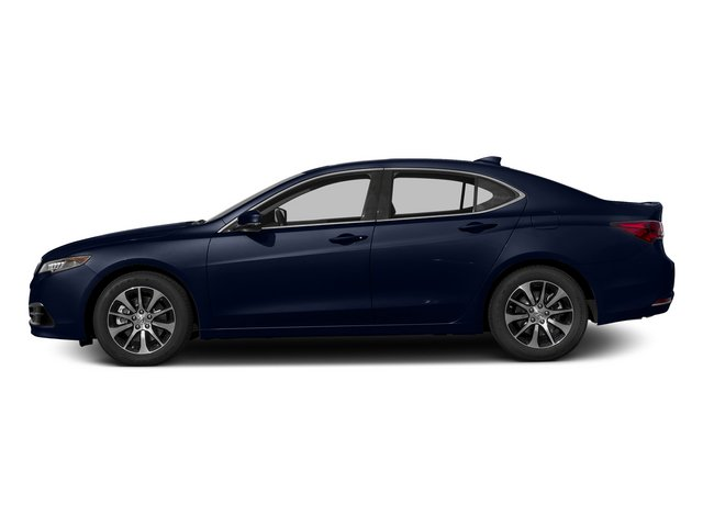 Fathom Blue Pearl 2015 Acura TLX Pictures TLX Sedan 4D I4 photos side view