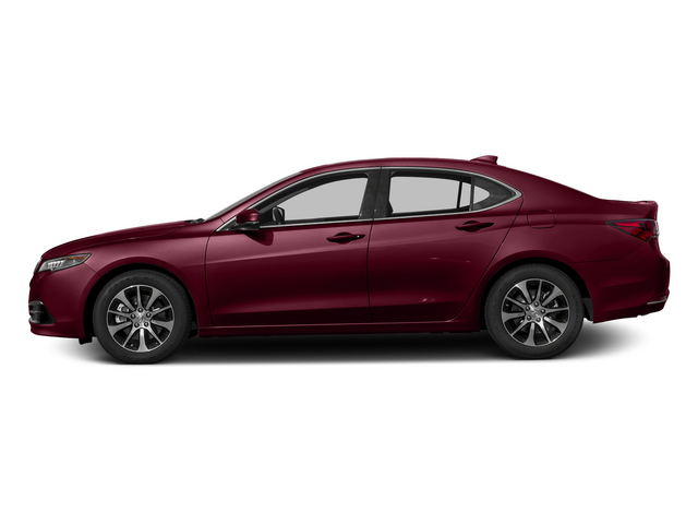 Basque Red Pearl II 2015 Acura TLX Pictures TLX Sedan 4D I4 photos side view