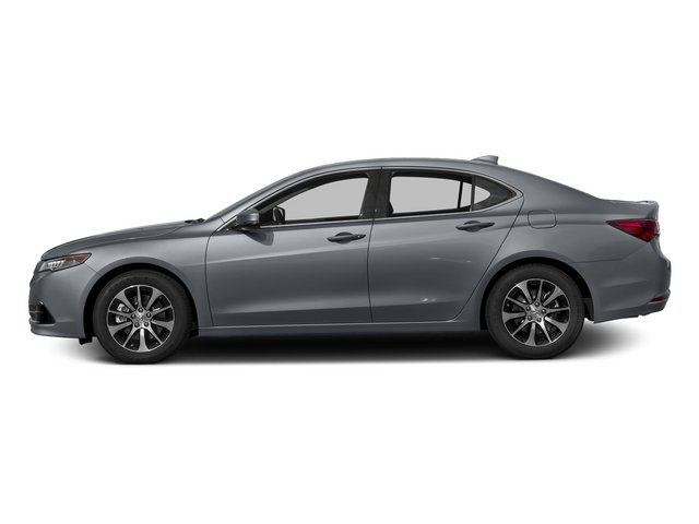 Slate Silver Metallic 2015 Acura TLX Pictures TLX Sedan 4D I4 photos side view