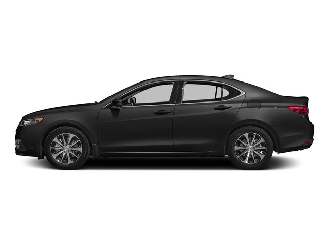 Graphite Luster Metallic 2015 Acura TLX Pictures TLX Sedan 4D Technology I4 photos side view