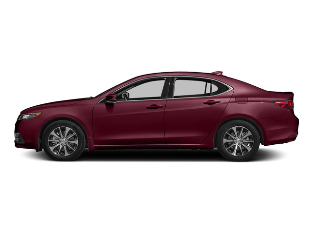 Basque Red Pearl II 2015 Acura TLX Pictures TLX Sedan 4D Technology I4 photos side view
