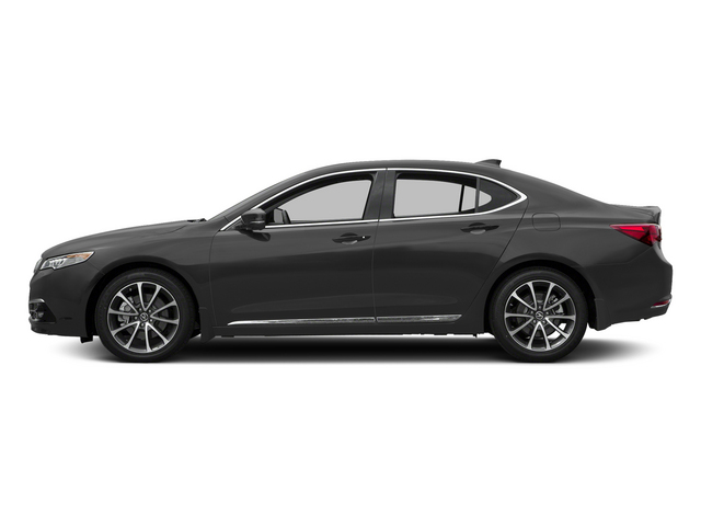 Graphite Luster Metallic 2015 Acura TLX Pictures TLX Sedan 4D Advance V6 photos side view