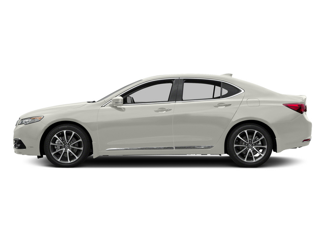 Bellanova White Pearl 2015 Acura TLX Pictures TLX Sedan 4D Advance V6 photos side view