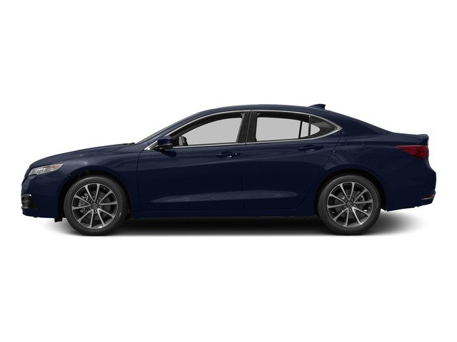 Fathom Blue Pearl 2015 Acura TLX Pictures TLX Sedan 4D Technology V6 photos side view