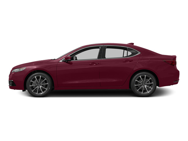 Basque Red Pearl II 2015 Acura TLX Pictures TLX Sedan 4D Technology V6 photos side view