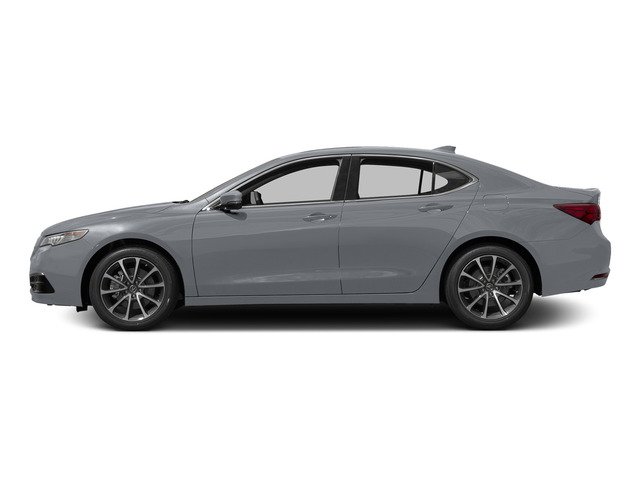 Slate Silver Metallic 2015 Acura TLX Pictures TLX Sedan 4D Technology V6 photos side view