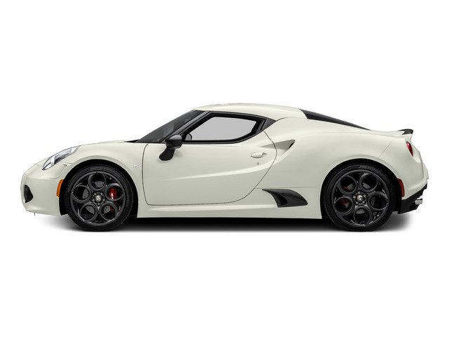 Madreperla White Tri-Coat 2015 Alfa Romeo 4C Pictures 4C Coupe 2D Launch Edition I4 Turbo photos side view