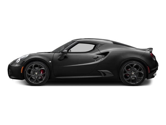 Black 2015 Alfa Romeo 4C Pictures 4C Coupe 2D I4 Turbo photos side view