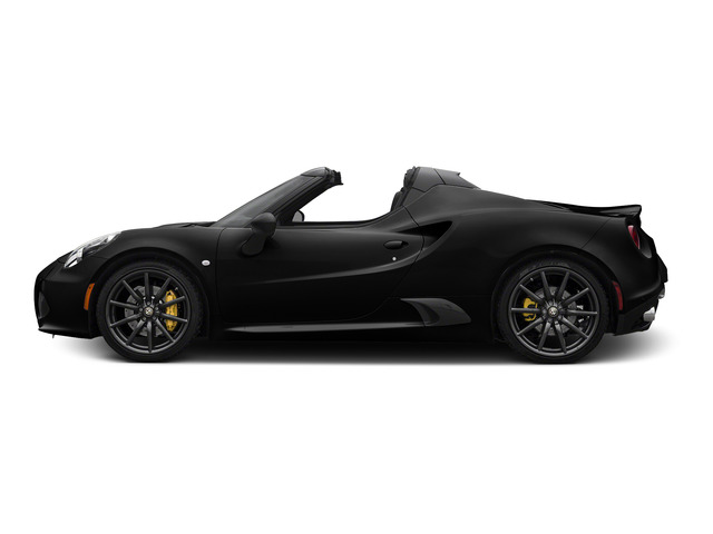 Black 2015 Alfa Romeo 4C Pictures 4C Convertible 2D Spyder I4 Turbo photos side view