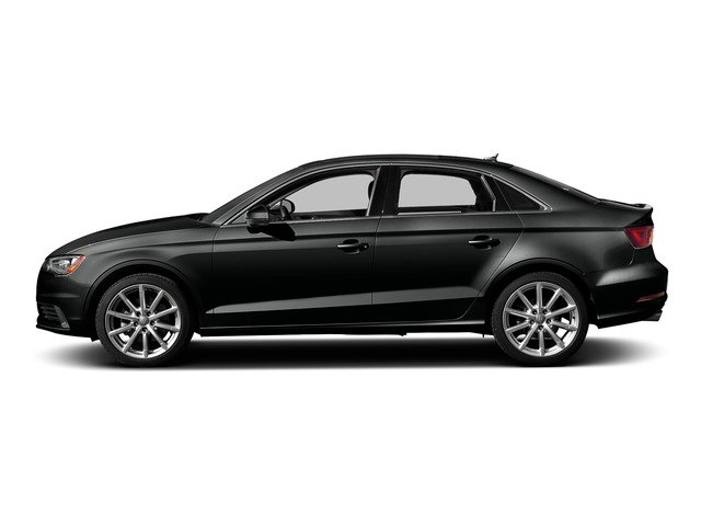 Mythos Black Metallic 2015 Audi A3 Pictures A3 Sed 4D TDI Premium Plus 2WD I4 Turbo photos side view