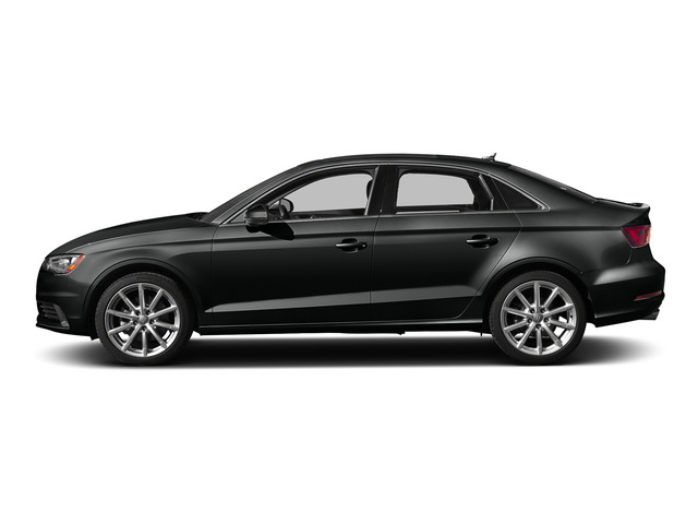 Mythos Black Metallic 2015 Audi A3 Pictures A3 Sedan 4D 1.8T Premium I4 Turbo photos side view