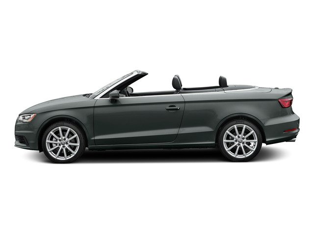 Monsoon Gray Metallic/Black Roof 2015 Audi A3 Pictures A3 Conv 2D 1.8T Premium Plus I4 Turbo photos side view