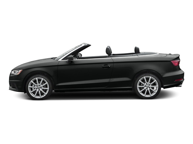 Mythos Black Metallic/Black Roof 2015 Audi A3 Pictures A3 Conv 2D 2.0T Prem Plus AWD I4 Turbo photos side view