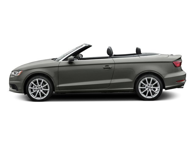 Lotus Gray Metallic/Black Roof 2015 Audi A3 Pictures A3 Conv 2D 2.0T Prem Plus AWD I4 Turbo photos side view