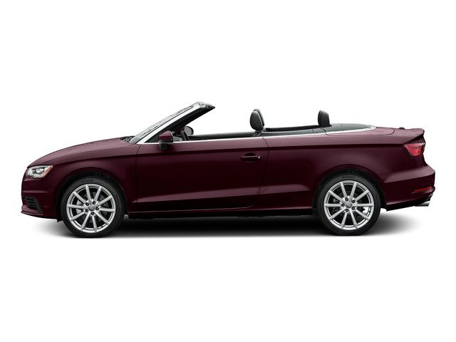 Shiraz Red Metallic/Black Roof 2015 Audi A3 Pictures A3 Conv 2D 2.0T Prem Plus AWD I4 Turbo photos side view
