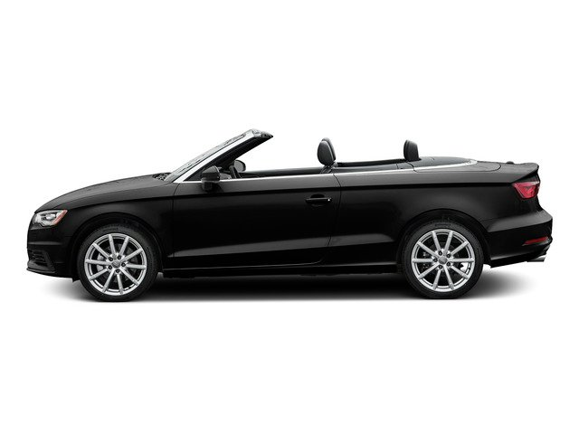 Brilliant Black/Black Roof 2015 Audi A3 Pictures A3 Conv 2D 2.0T Prem Plus AWD I4 Turbo photos side view