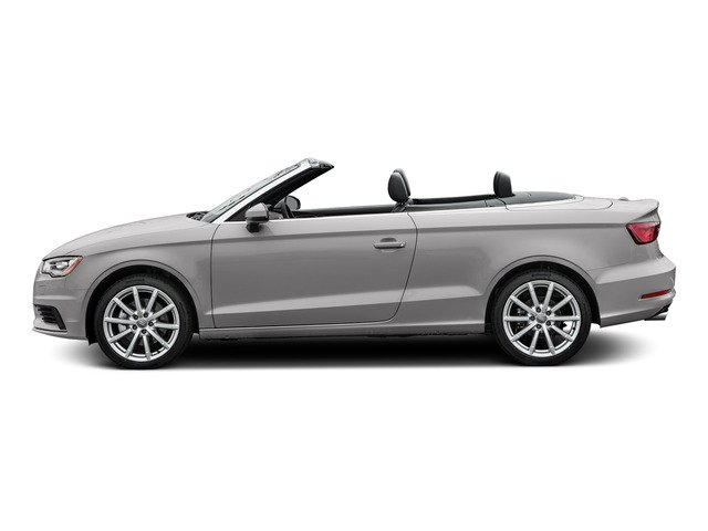 Florett Silver Metallic/Black Roof 2015 Audi A3 Pictures A3 Conv 2D 2.0T Prem Plus AWD I4 Turbo photos side view