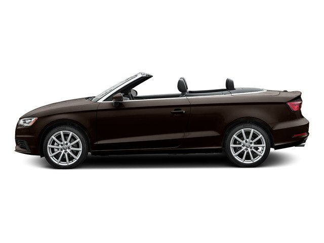 Beluga Brown Metallic/Black Roof 2015 Audi A3 Pictures A3 Conv 2D 1.8T Premium Plus I4 Turbo photos side view
