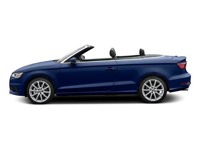 Scuba Blue Metallic/Black Roof 2015 Audi A3 Pictures A3 Conv 2D 2.0T Prem Plus AWD I4 Turbo photos side view