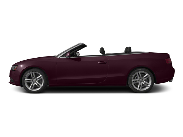 Shiraz Red Metallic/Black Roof 2015 Audi A5 Pictures A5 Convertible 2D Premium Plus AWD photos side view