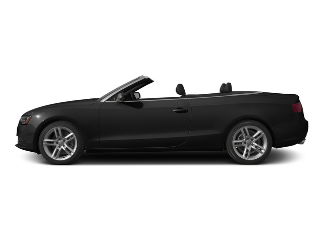 Brilliant Black/Black Roof 2015 Audi A5 Pictures A5 Convertible 2D Premium Plus AWD photos side view