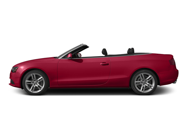 Brilliant Red/Black Roof 2015 Audi A5 Pictures A5 Convertible 2D Premium Plus AWD photos side view