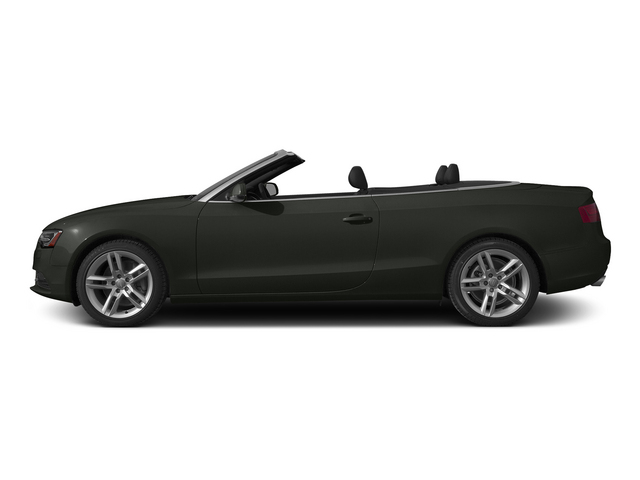 Tornado Gray Metallic/Black Roof 2015 Audi A5 Pictures A5 Convertible 2D Premium Plus AWD photos side view