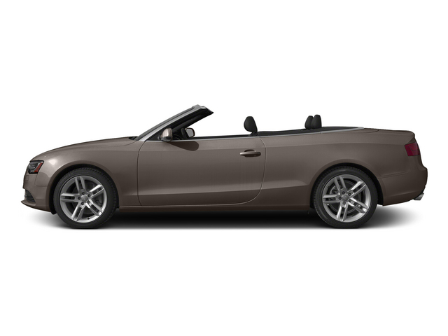 Dakota Gray Metallic/Black Roof 2015 Audi A5 Pictures A5 Convertible 2D Premium Plus AWD photos side view