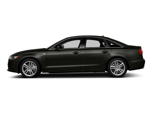 Havanna Black Metallic 2015 Audi A6 Pictures A6 Sedan 4D TDI Prestige AWD photos side view