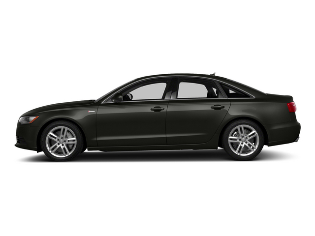 Havanna Black Metallic 2015 Audi A6 Pictures A6 Sedan 4D 3.0T Prestige AWD photos side view