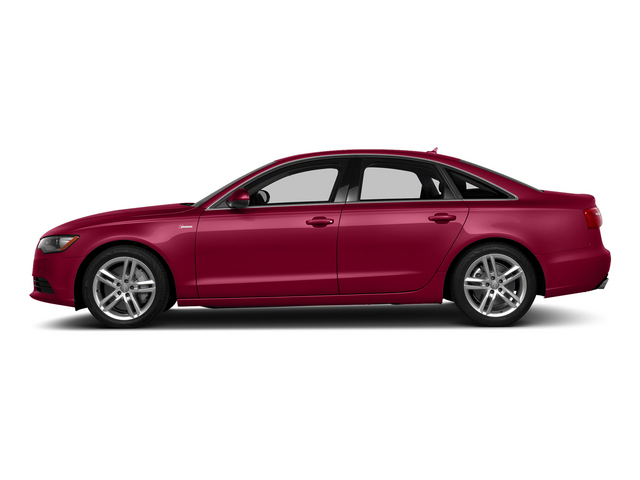Garnet Red Pearl Effect 2015 Audi A6 Pictures A6 Sedan 4D TDI Prestige AWD photos side view