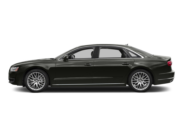 Havanna Black Metallic 2015 Audi A8 L Pictures A8 L Sedan 4D 4.0T L AWD V8 Turbo photos side view